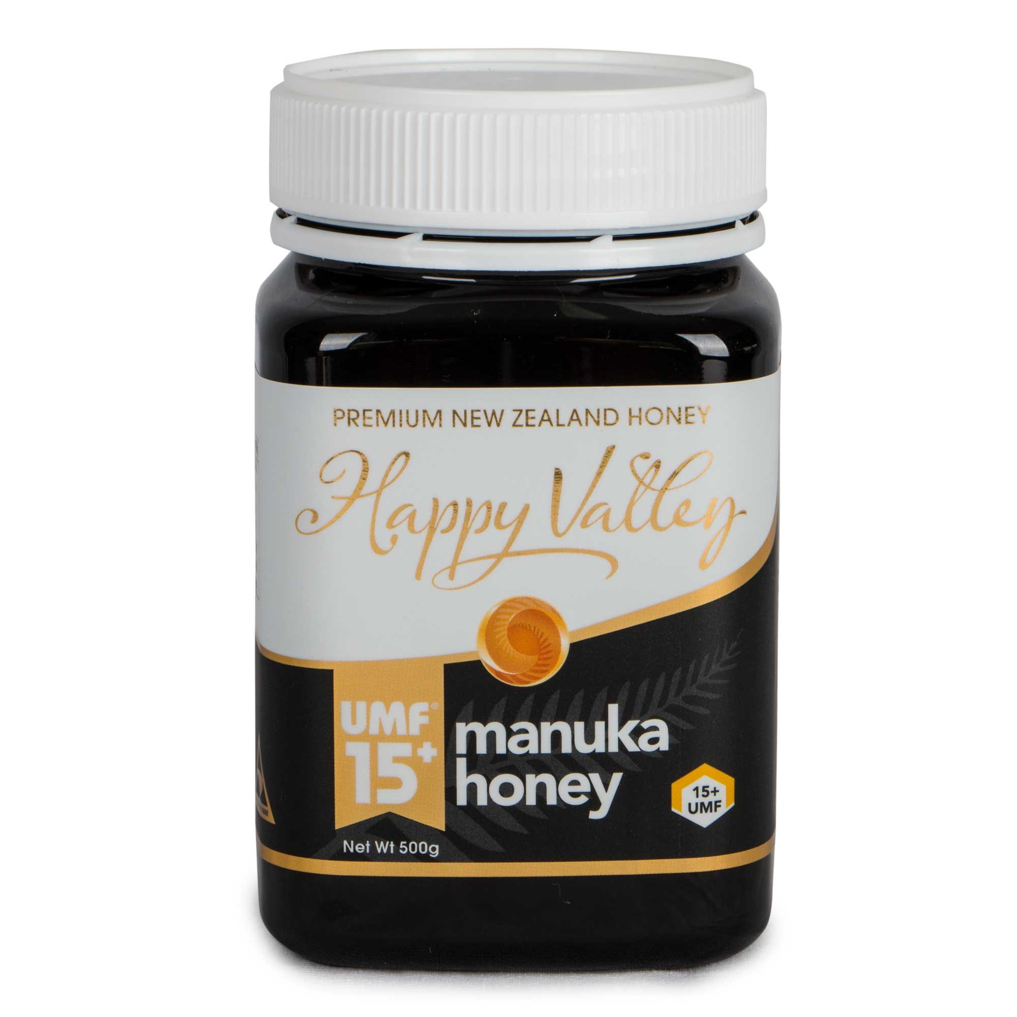 Happy Valley UMF 15+ Manuka Honey, 500g (17.6oz)