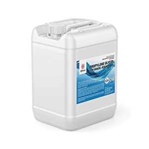 Alliance Chemical High Purity Propylene Glycol USP Kosher Certified, Food and Pharmaceutical Grade - 5 Gallon Pail
