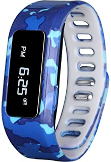 GabbaGoods GG-KAT-BCA Kids Fitness Watch Activity Tracker, Kids Smart Wristband Watch