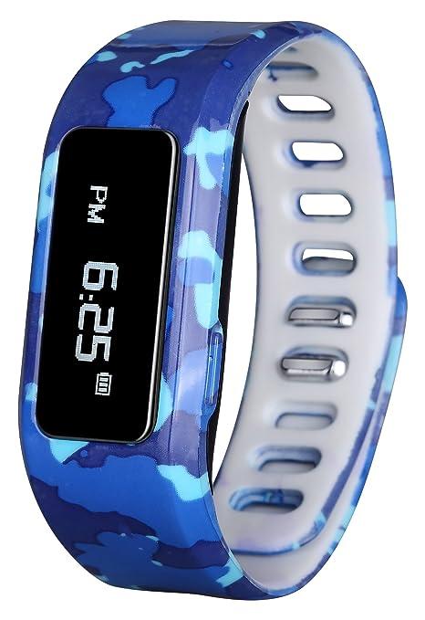 GabbaGoods Pulsera de Seguimiento de Actividad Fitness Reloj Infantil, niños Smart Watch, inalámbrico portátil