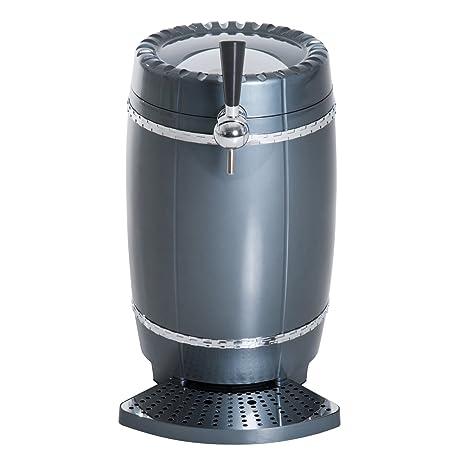 Mini dispensador de enfriador de cerveza portátil de 10 litros, para coche, color negro