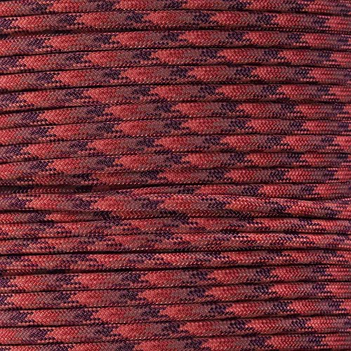 Paracord Planet 7-Strand 4mm Paracord Beading Cord (Selection of Over 250 Colors!) Choose from 50, 100, & 250 Foot Lengths