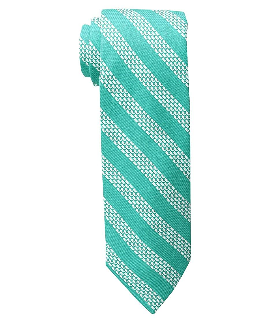 Vineyard Vines Mens Micro Whale Silk Tie