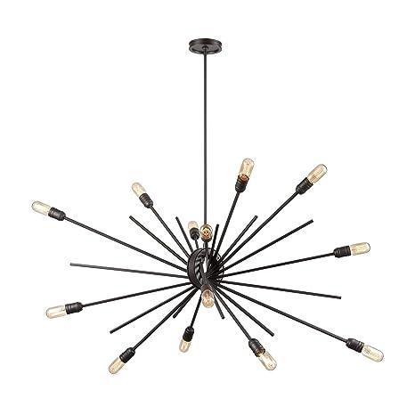 Amazon.com: Elk Lighting 66916/14 Island - Lámpara de techo ...
