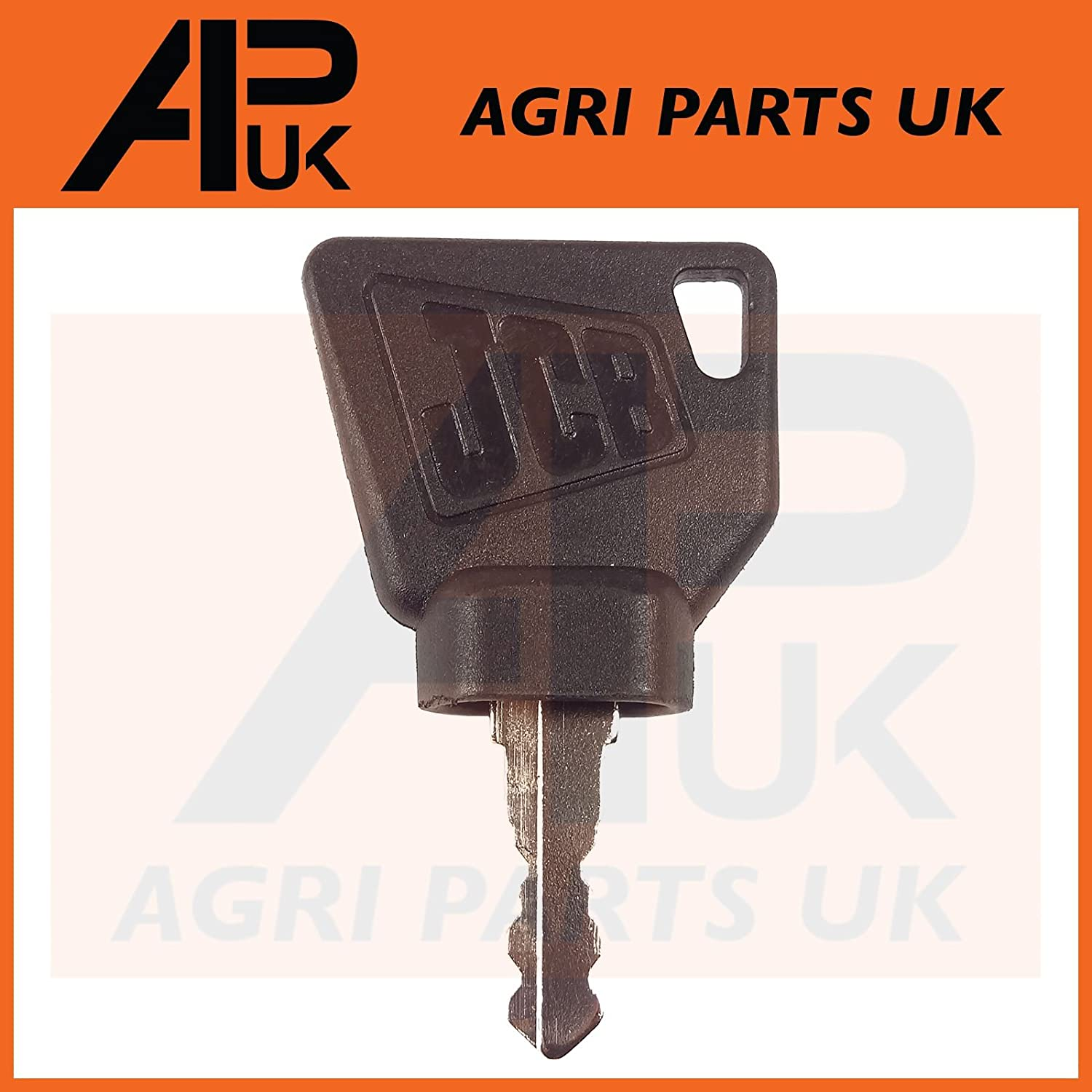 APUK 8 Pack Universal Ignition Switch Keys Tractor Digger Forklift Compatible with JCB Lucas Metal