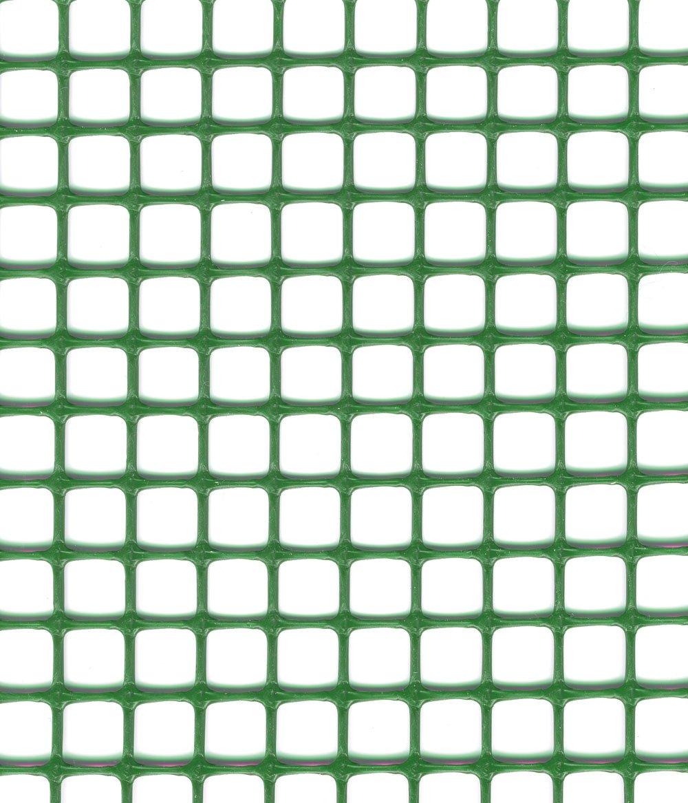 Quadra 10 72020218 Rete in Plastica Multiuso, Verde, 0.5x5 cm Tenax