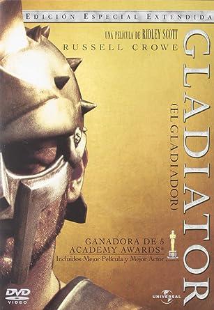 Gladiator (Edición extentida) [DVD]: Amazon.es: Russell ...