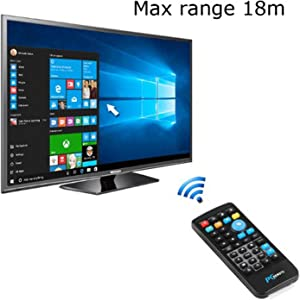 XBOSS X8 Wireless IR Remote Control PC Fly Mouse Mini USB Controller Media Center with USB Receiver for Windows 7 8 10 XP Vista Android Tv Box Smart tv