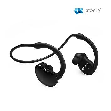 Auriculares Running Bluetooth Cascos Proxelle Wireless Sport Microfono Manos Libres Resistente al Sudor Compatible Universal Bluetooth