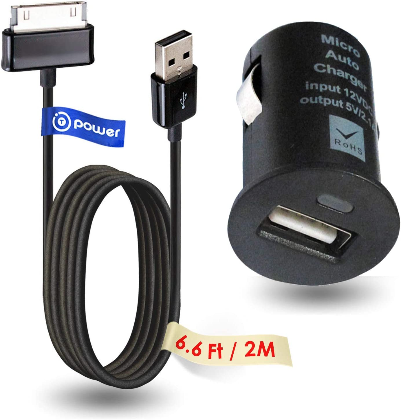 """10.1/""""Auto Car Charger Adapter for Samsung Galaxy Tab 2 7/"""" 8.9/"""""""