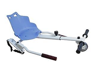 Sumun Sbksgt Asiento Kart Hoverboard, Blanco/Azul, 6.5