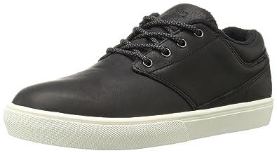 Etnies Men's Jameson MT Skateboarding Shoe, Black/White/Black, ...