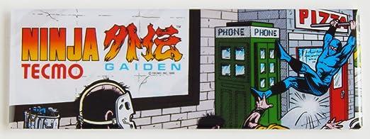 Amazon.com: Tecmo Ninja Gaiden Arcade Marquee Refrigerator ...