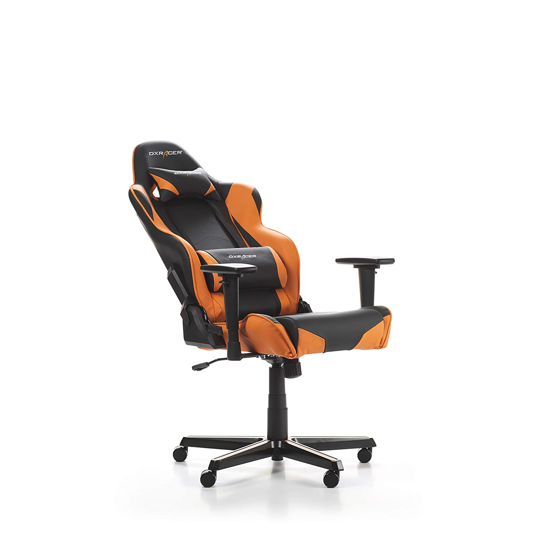 /Office /& Ordinateur Chairs Black, Orange, Black, Orange, Polyurethane, Polyurethane, Black, 5/Wheel DXRacer Racing r0-no Office//Ordinateur Chair/ s