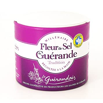 Amazon Com Guerande Fleur De Sel Sea Salt 4 4 Oz Pack Of 1