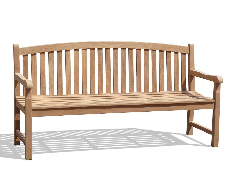 Fantastic Jati Gloucester Teak Curved Back Garden Bench 1 8M Brand Quality Value Lamtechconsult Wood Chair Design Ideas Lamtechconsultcom
