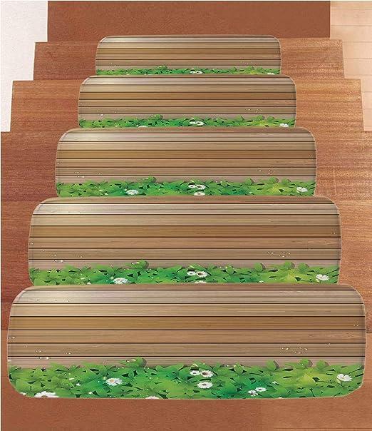 SoSung - Peldaños de Goma para Escalera, diseño de Pato, Color Rosa y Amarillo: Amazon.es: Juguetes y juegos