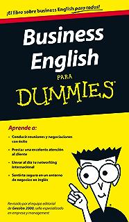 Business English para Dummies (Spanish Edition)
