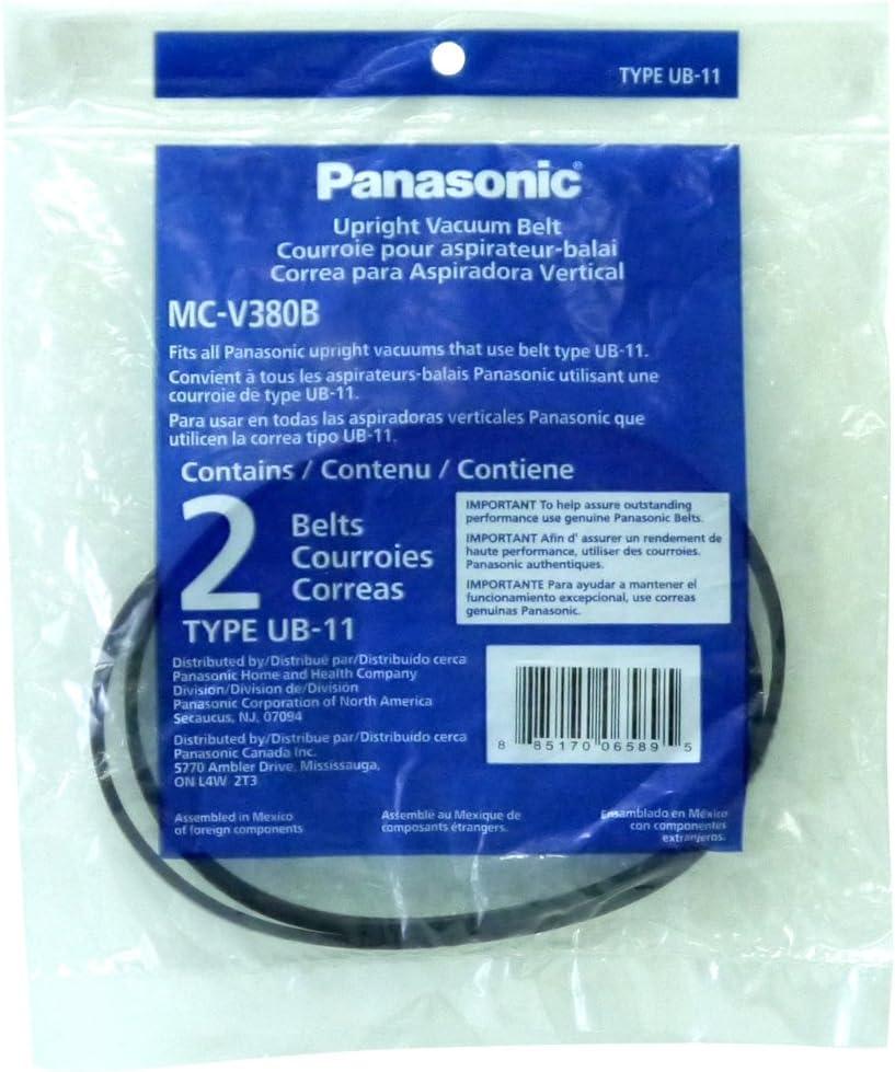 Panasonic Vacuum Belt, Type UB-11