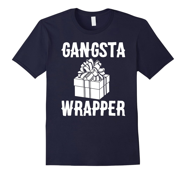 Gangstaa Wrapper Tshirt - Offensive Christmas Shirts-ANZ - Anztshirt