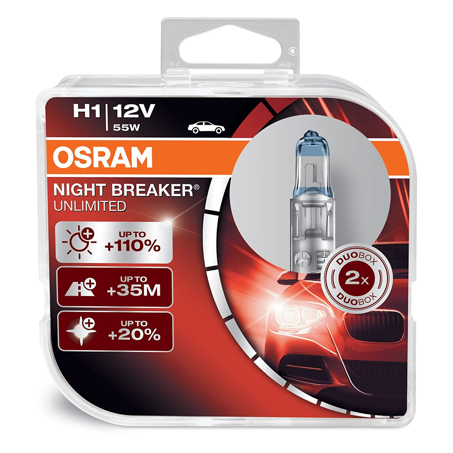 2x Halogen Bulb HQ Automotive HB4 9006 12V 55W Xenon Effect Fog Bulbs D