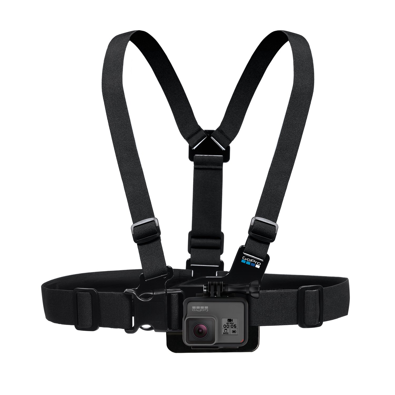 GoPro Chest Mount Harness - Arnés de pecho para cámara GoPro, color negro GCHM30-001 DK00150010_-