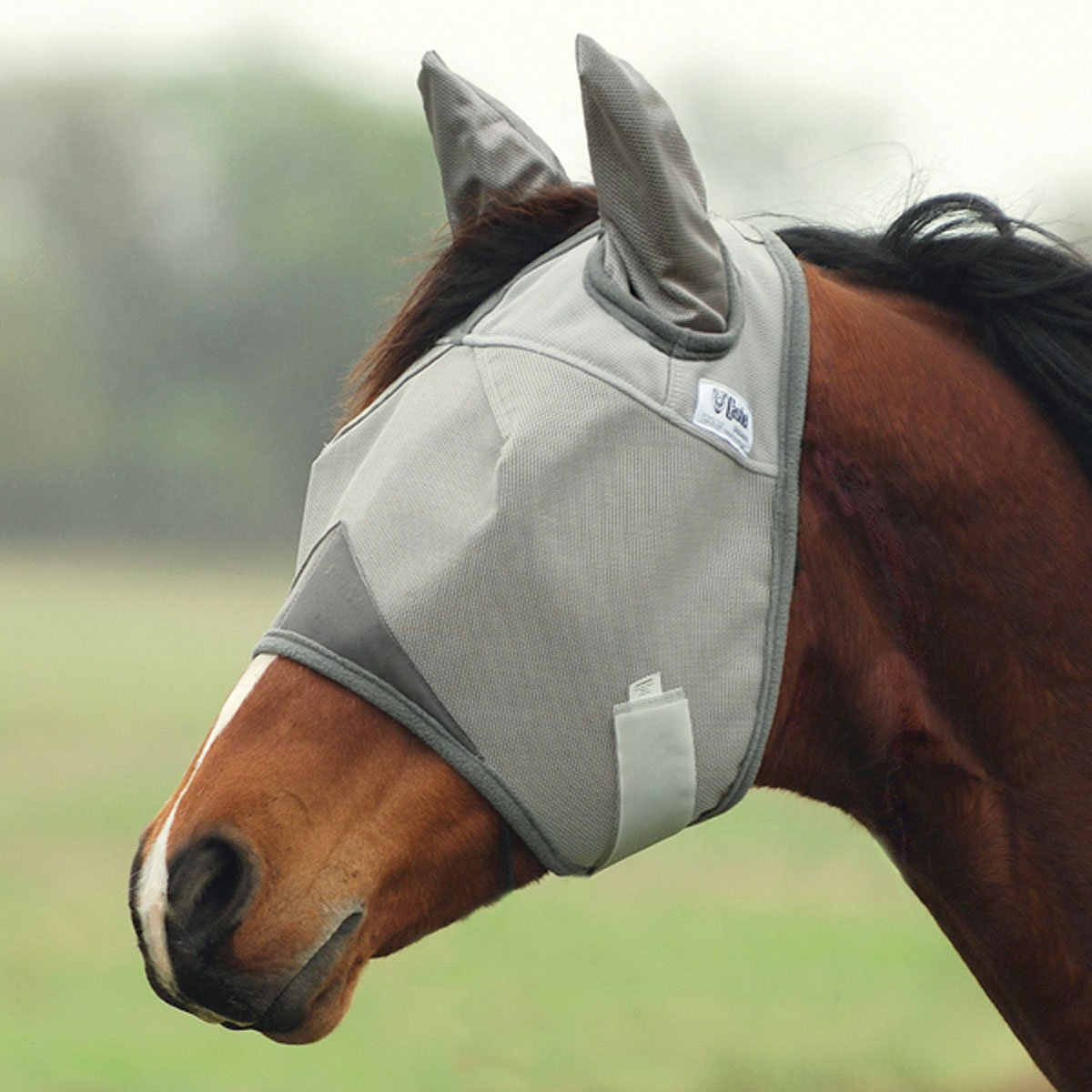 Cashel Crusader Fly Mask with Ears - Size: Horse by Cashel