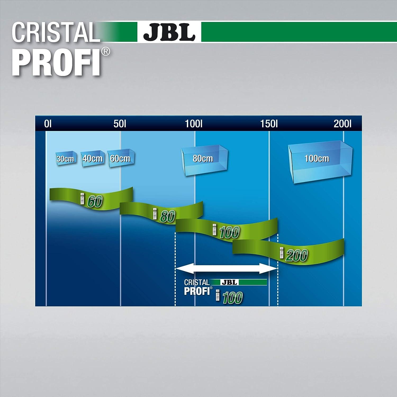 Filtro interno con consumo reducido de energ/ía para acuarios de 40 a 80 l JBL CristalProfi i60 greenline