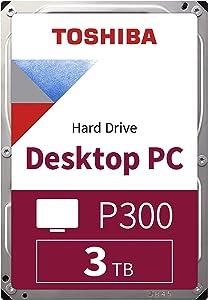 Toshiba P300 3TB HDD 3000GB Serial ATA Internal Hard Drive