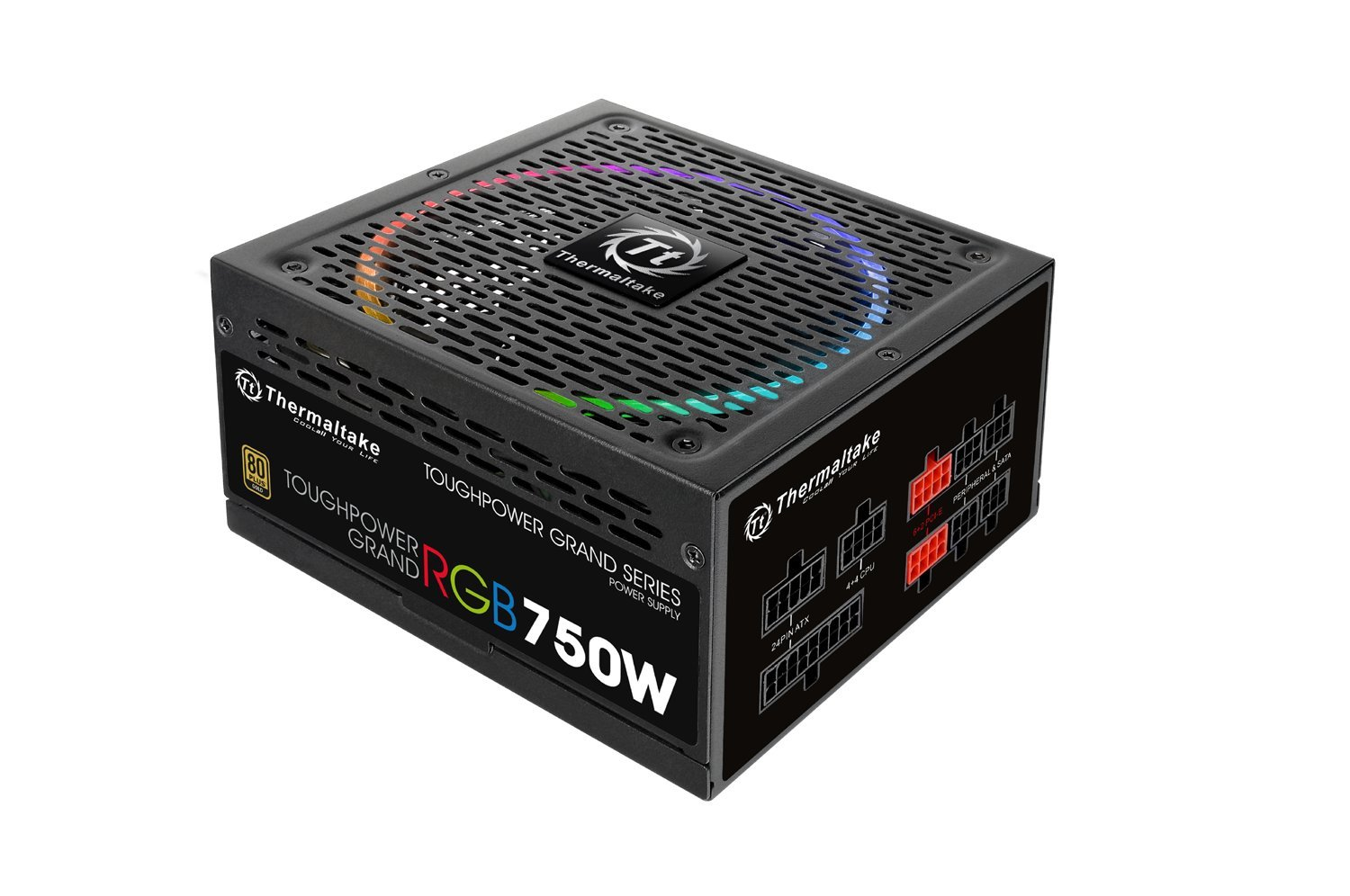 Thermaltake Toughpower Grand RGB 750W 80Plus Alimentatore Nero PS-TPG-0750FPCGEU-R