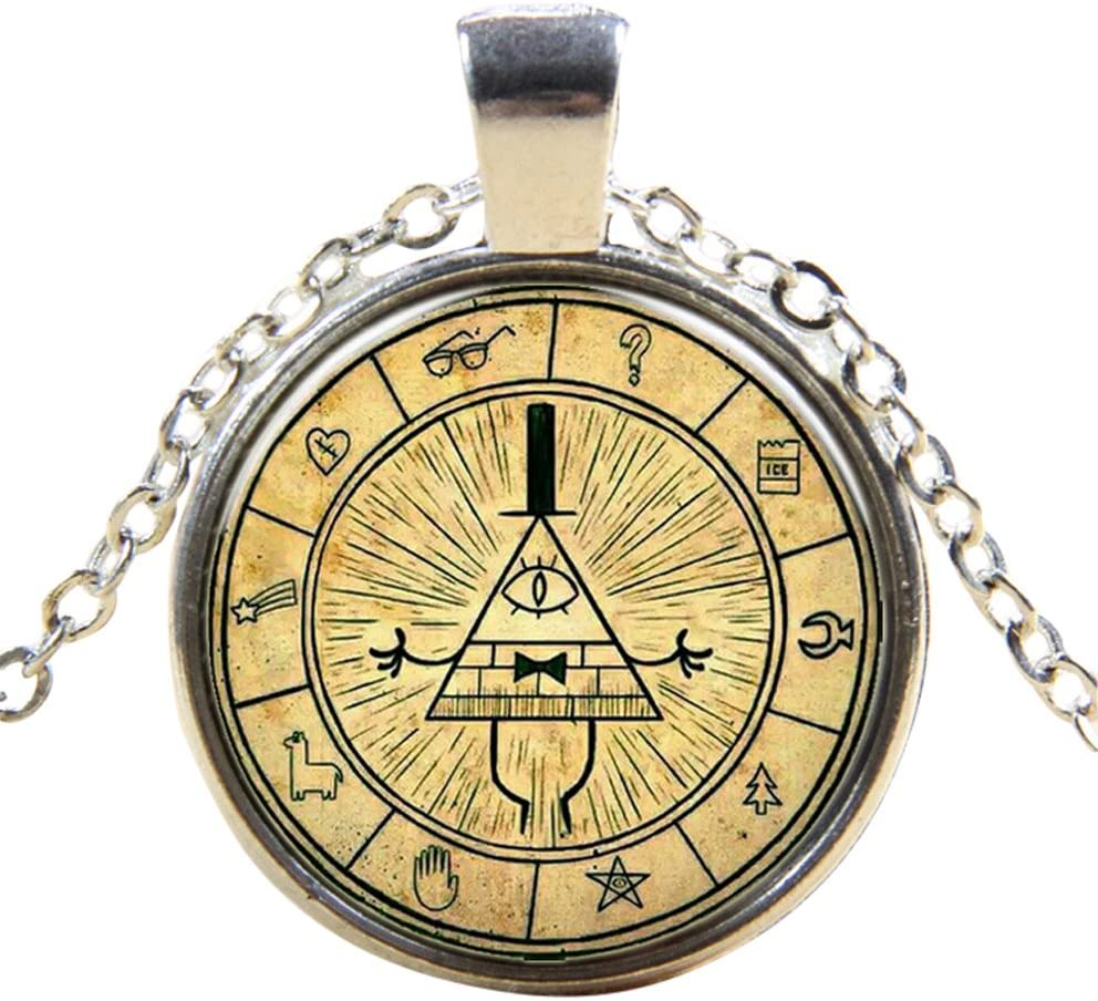 UltraByEasyPeasyStore Antique Cogs Style Steampunk Necklaces Classic Cyber Punk Victorian Mens Womens Jewellery Chain and Pendant Copper Vintage Cosplay