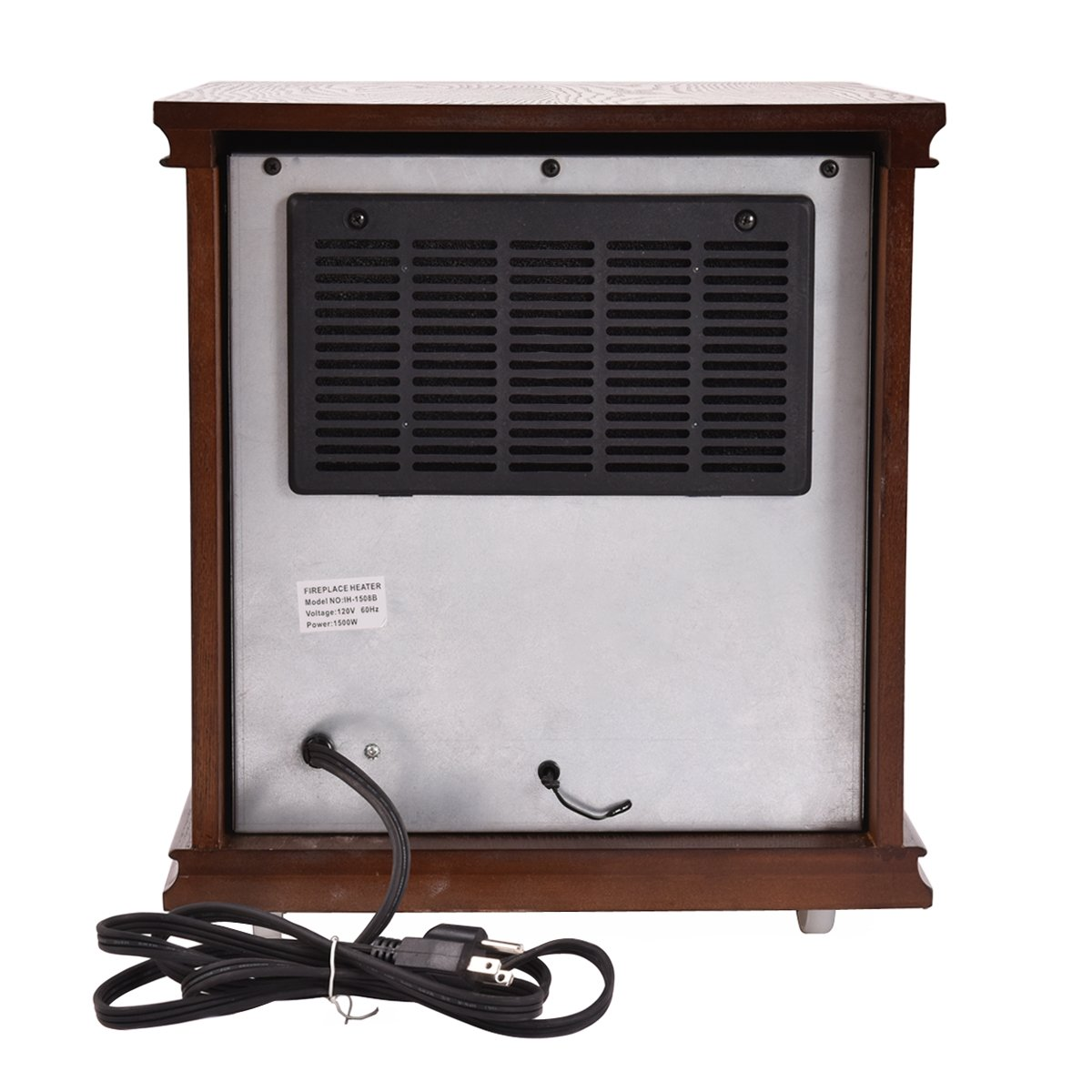 Giantex Infrared Electric Portable 1500w Space Heater Wiring A Quartz W Remote Home Kitchen