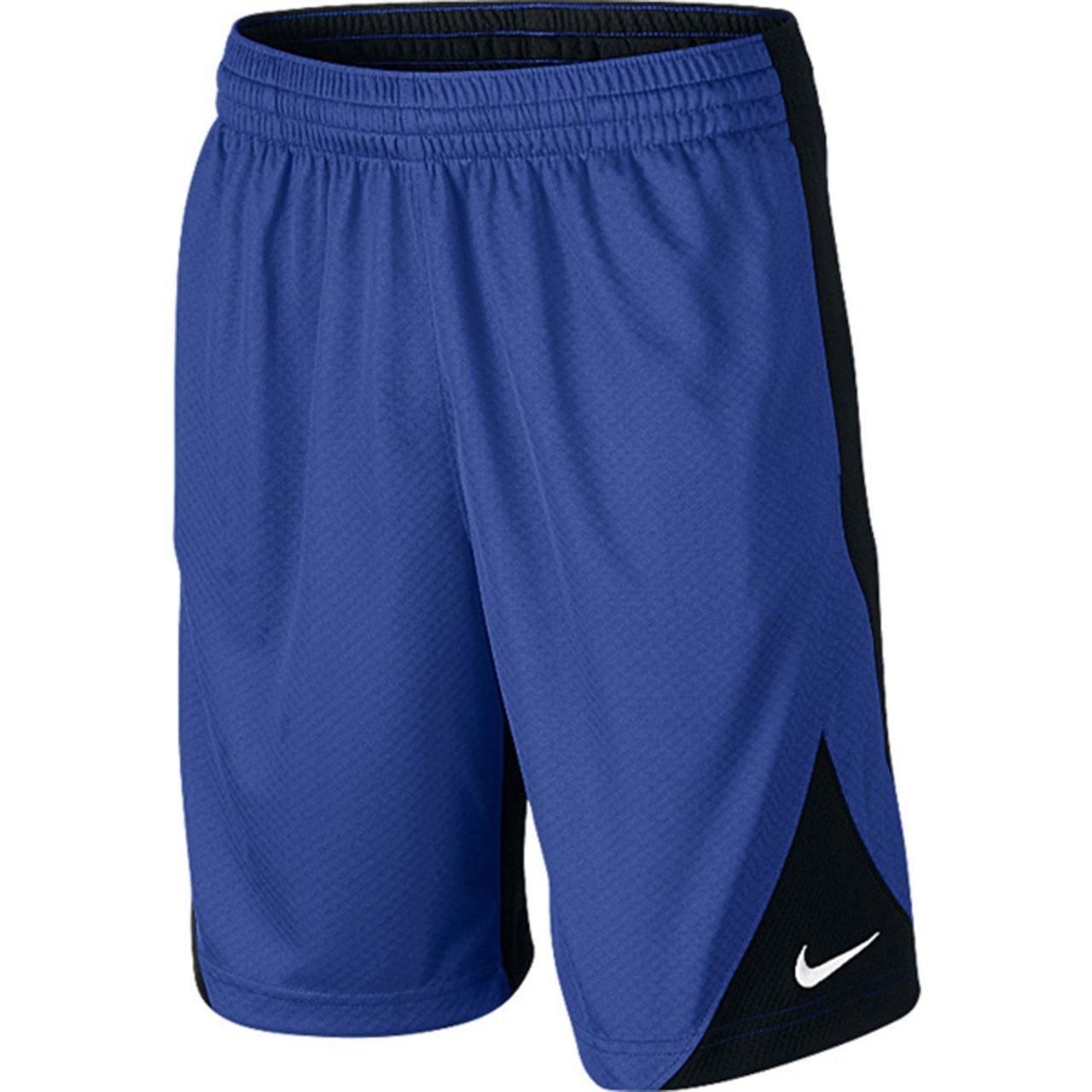 Nike Youth Boy's Athletic Basketball Training Shorts 820290 (480 Game Royal/Black, M)