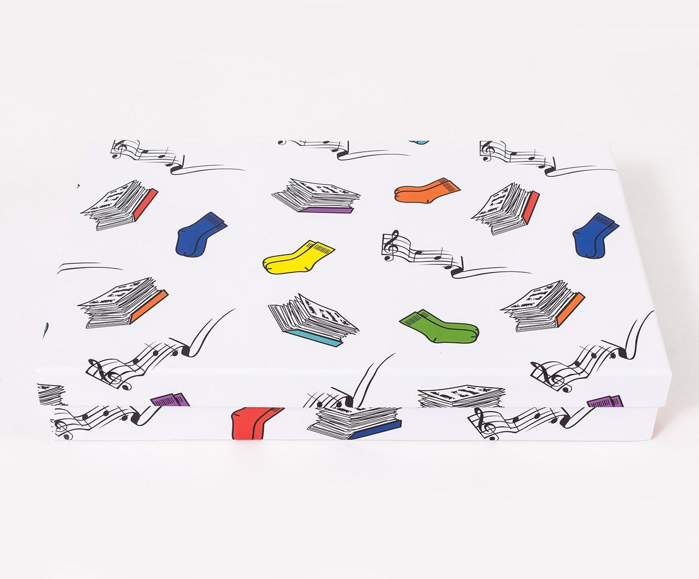 Vilys House Caja cartón con Nueve departamentos extraíbles ...