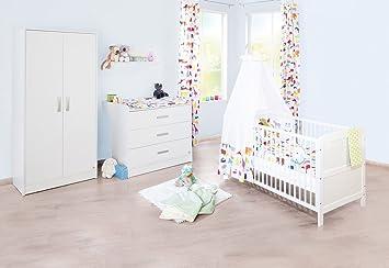 Pinolino Kinderzimmer Viktoria Breit 3 Teilig Kinderbett 140 X 70