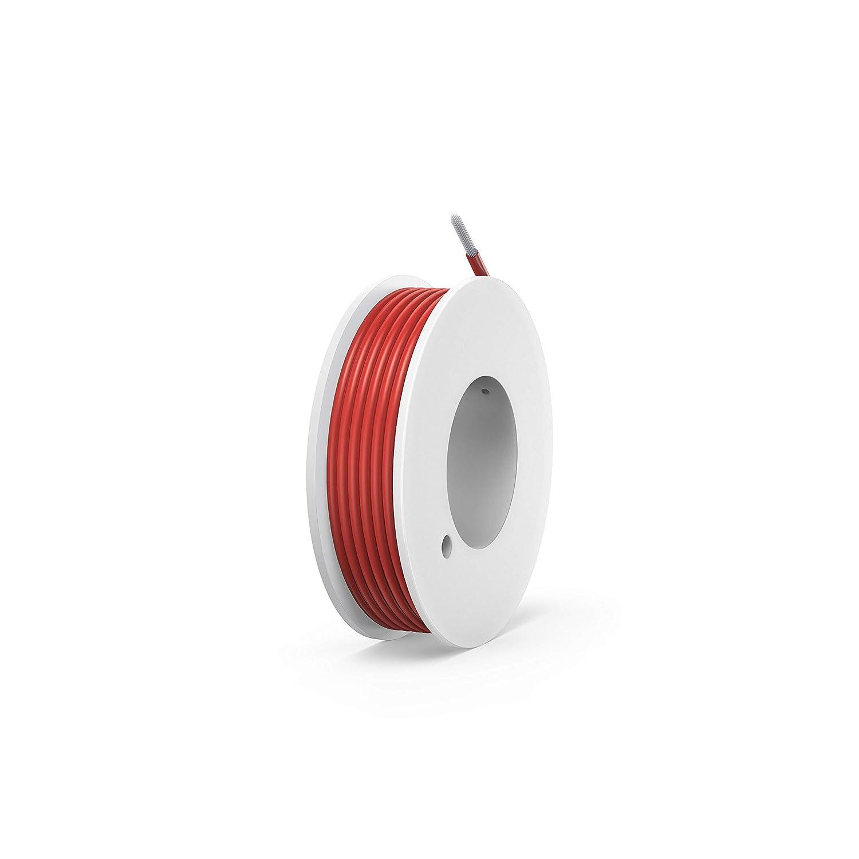 NorthPada 20 AWG 0,5mm/² Elektronik Elektrischer Draht Kit Litzen Silikon Leitungen Draht Verzinntes Kupfer Kabel 6 Farbe Spule f/ür Leiterplatte PCB 600V 5A 6 Kabeltrommeln x 7 Meter