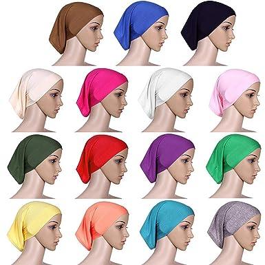 a7a01e24922742 XINBONG New Women Fashion Muslim Turban Hats Indian Caps Wrap Cap Women  Chemo Hats for Women Daily Party Caps at Amazon Women's Clothing store: