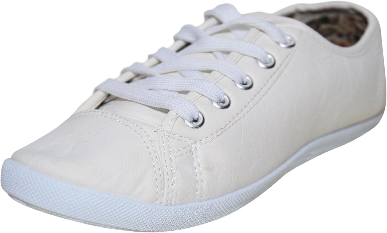 Black White Cream Flat Lace Up