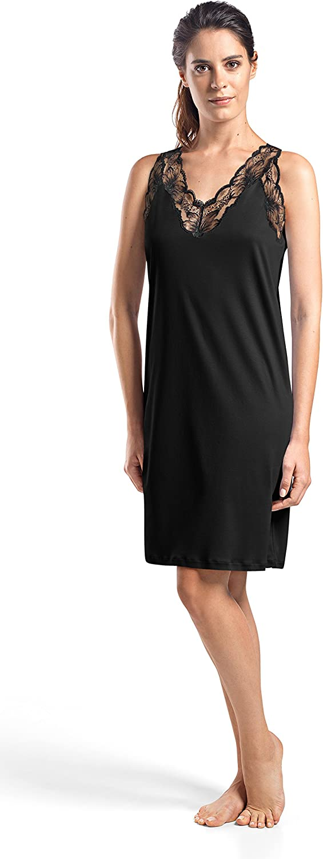 HANRO Womens Valencia Tank Gown 76994 Hanro Women/'s IA and Sleepwear