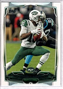 Football NFL 2014 Topps #28 Santonio Holmes #28 NM Near Mint NY Jets