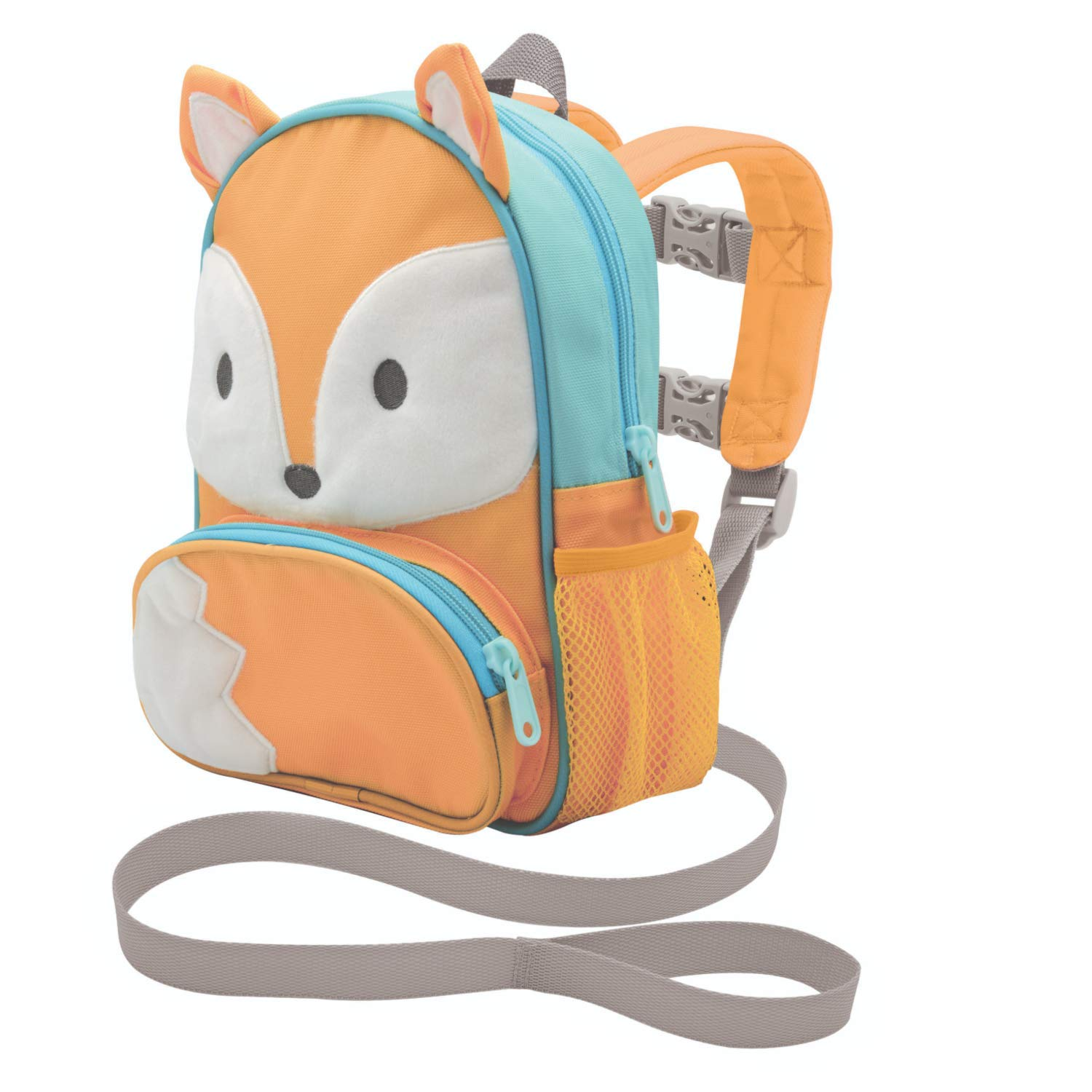 On the Goldbug Deluxe Character Backpack & Toddler Harness (Fox)