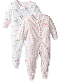 b414159d042f Baby Girls Blanket Sleepers