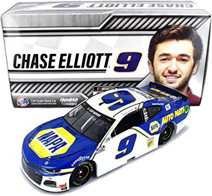 Chase Elliott 2019 Lionel #9 NAPA Batteries Patriotic ELITE Chevy Camaro 1//24