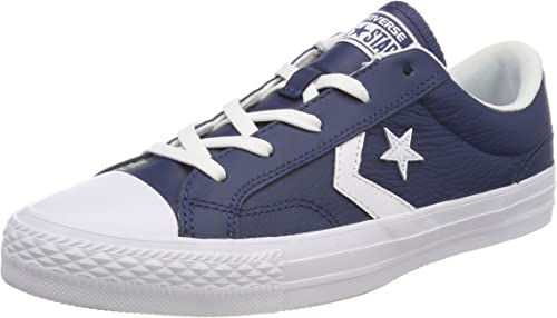 Converse Star Player Ox Navy White, Baskets Mixte Adulte