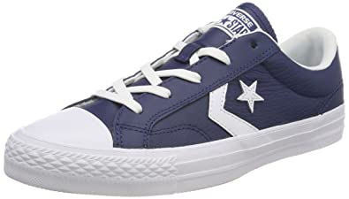 ... new zealand converse unisex kids lifestyle star player ox leather  fitness shoes blue navy 6e413 b2c65 c836ea065