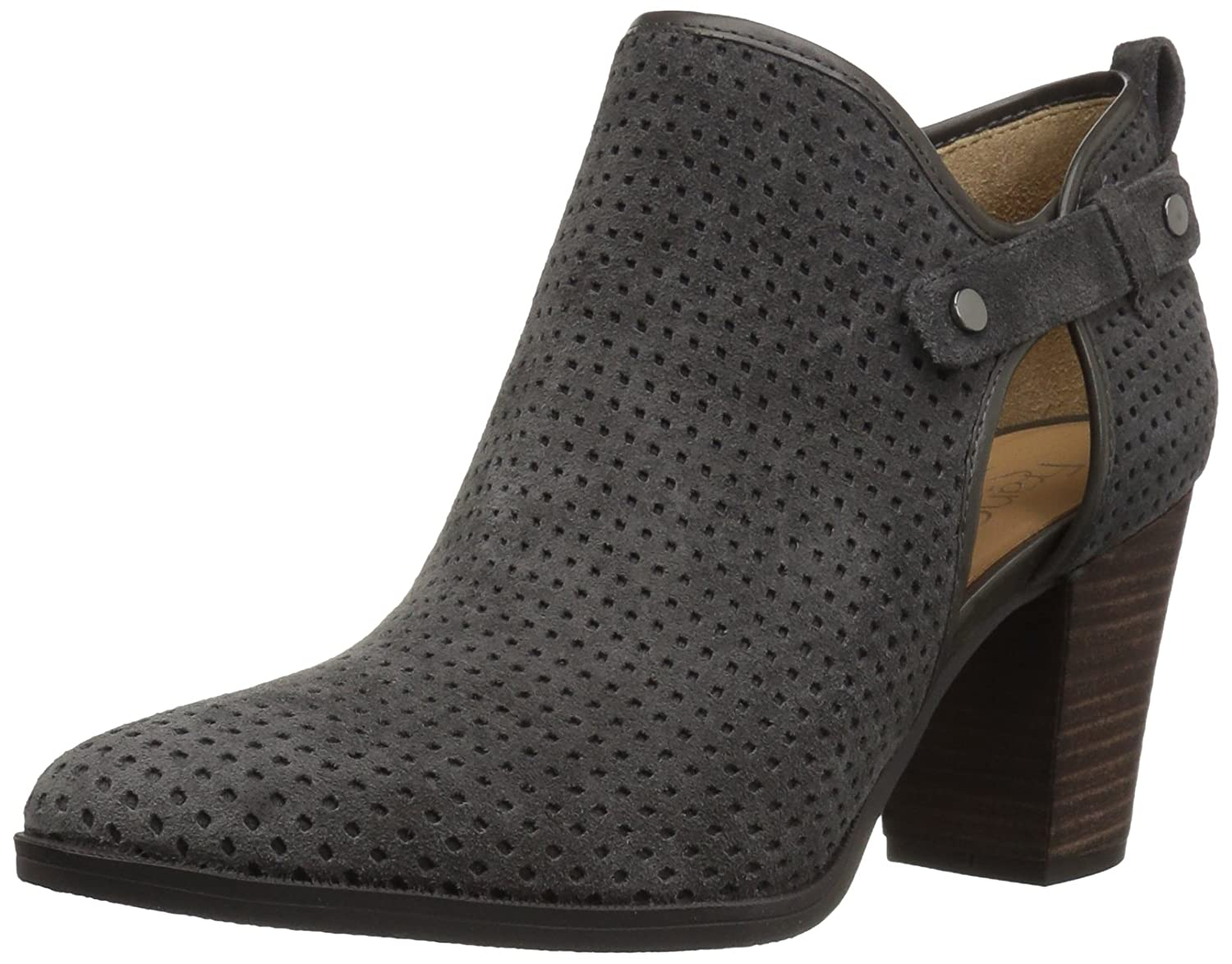 Franco Sarto Women's Dakota Ankle Boot B073YD5X37 10 B(M) US|Charcoal Grey