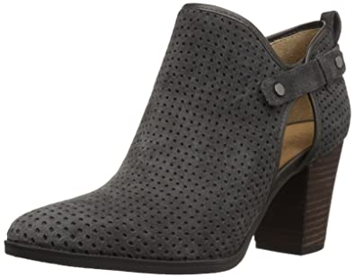 b4a7abb1d4a8 Franco Sarto Women s Dakota Ankle Boot Charcoal Grey 5 Medium US