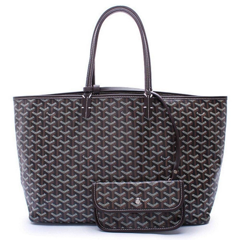 Agote Women Fashion Shipping Shoulder Tote Bag Set (BLACK.)