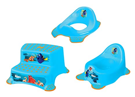 Set z disney dory vasino wc rialzo sgabello due fasi amazon