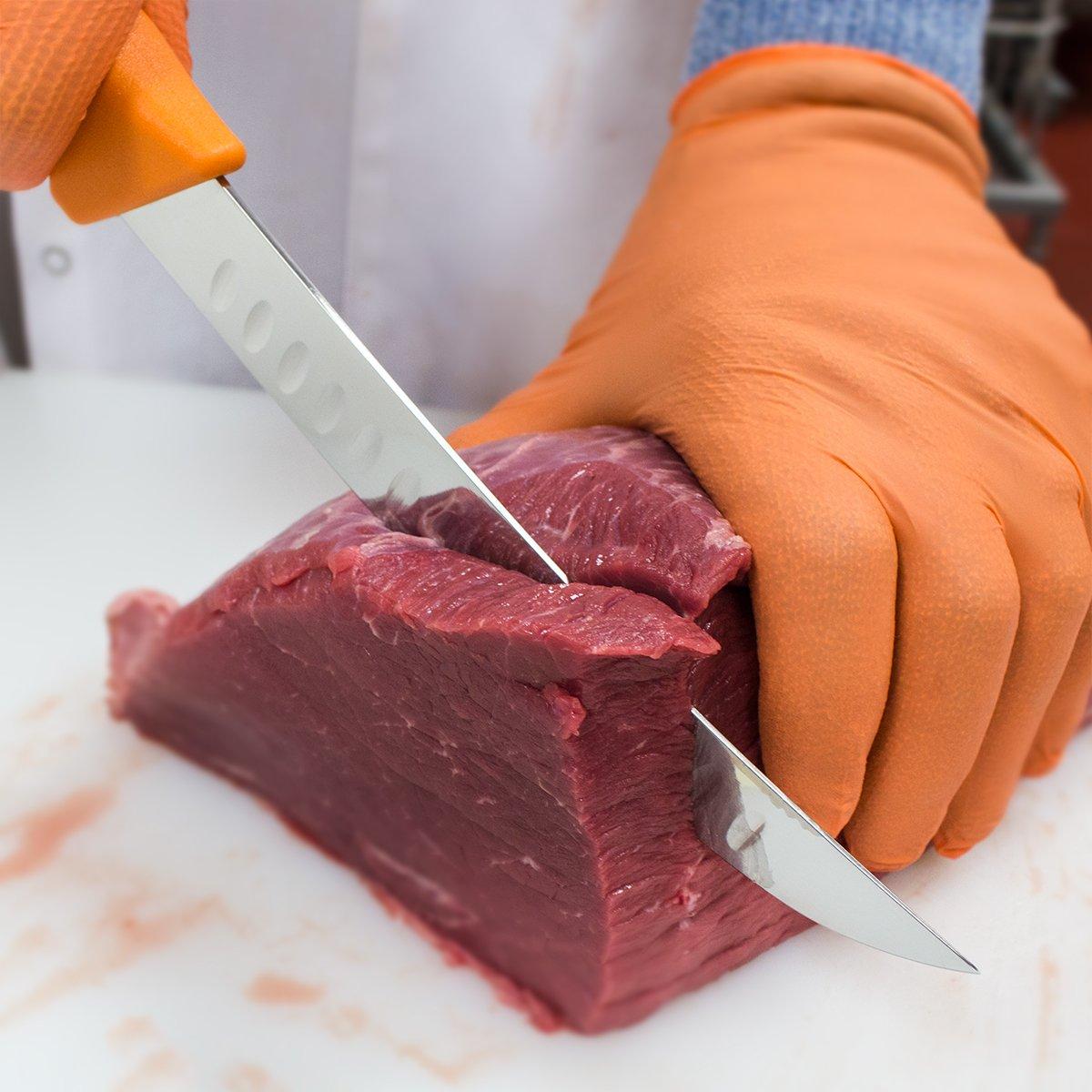 UltraSource Breaking Butcher Knife, 8'' Fluted Blade by UltraSource (Image #2)